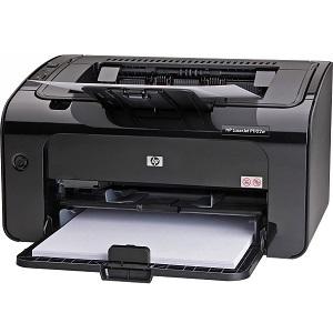 1.HP LaserJet Pro P1102w