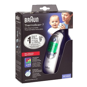 2.Braun Thermoscan 7