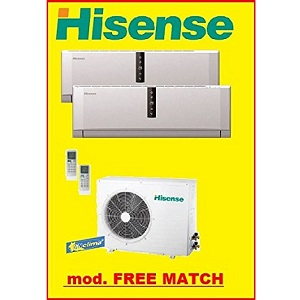 5.Hisense Dual Split