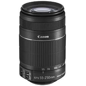1.Canon EF-S 55-250mm f-4-5.6 IS II