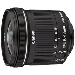 3.Canon EF-S 10-18 mm f 4.5-5.6 IS STM