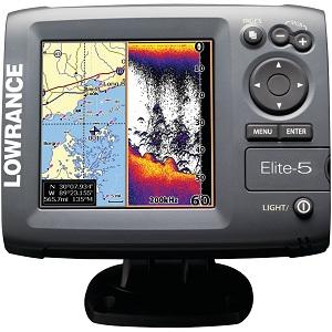 5.Lowrance Elite-5 000-00104-001