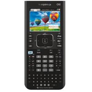 1.Texas Instruments TI Nspire CX CAS