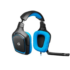 2.Logitech G430 Cuffia Surround Sound per Giochi
