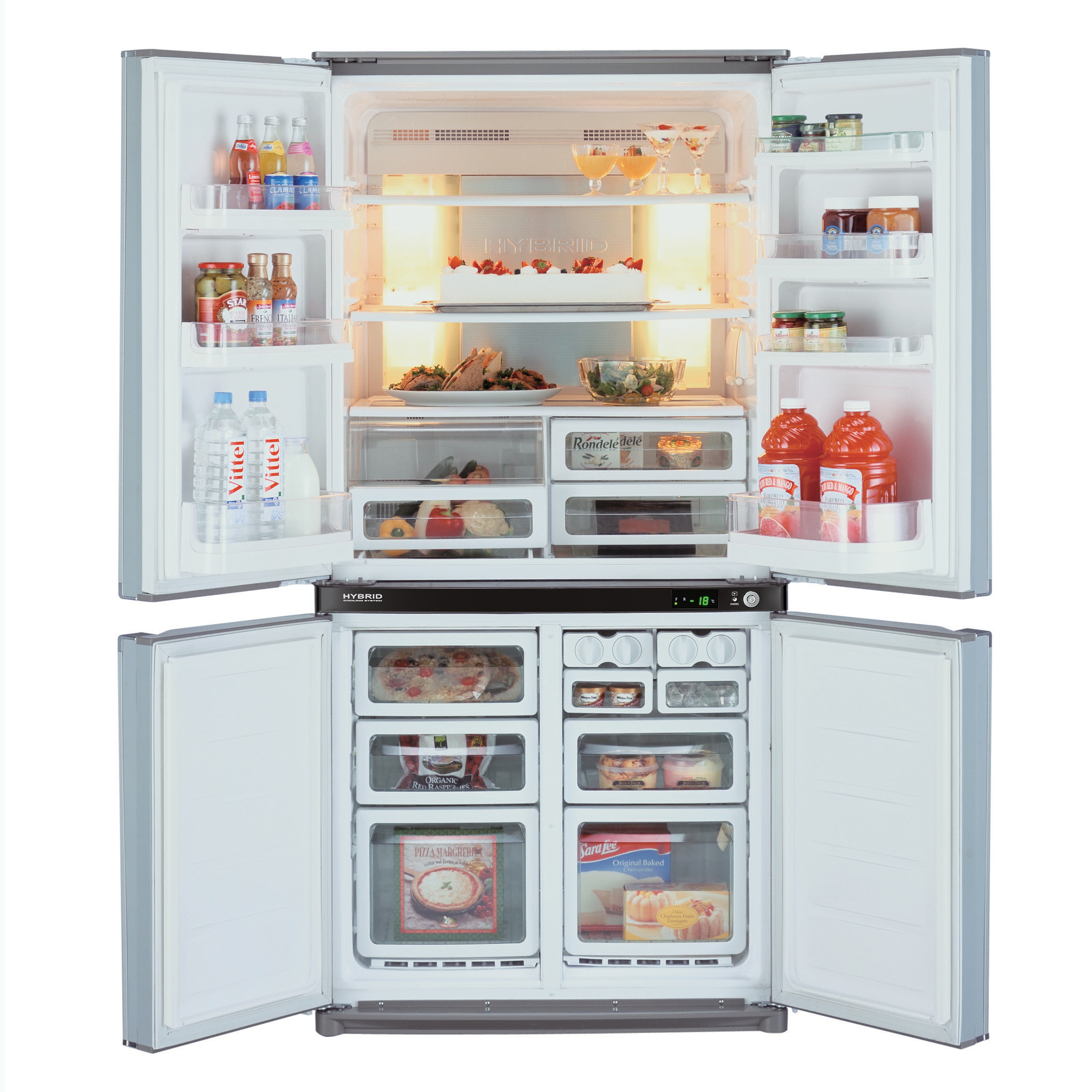 I migliori frigoriferi americani classifica e recensioni for Frigo due ante