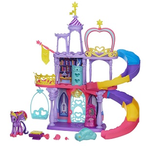 7.Hasbro A8213EU4 - My Little Pony Magical Rainbow Castle