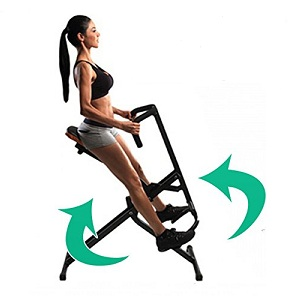 4.Total fitness Rider Body Crunch