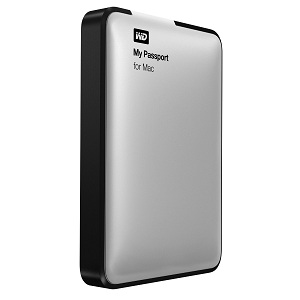 4.WD My Passport for Mac 1TB