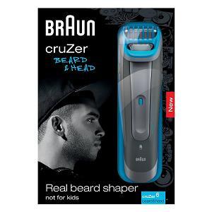 2.Braun cruZer6 beard&head