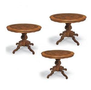 ▷ I migliori tavoli rotondi allungabili. Classifica Di Luglio 2018