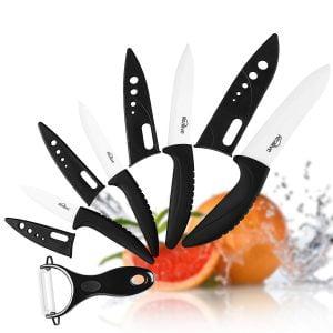I migliori set di coltelli da cucina in ceramica classifica di novembre 2018 - Set di coltelli da cucina ...