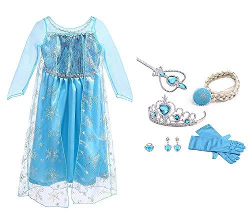 145a6792a503f6 ▷ I Migliori Costumi Di Frozen. Classifica E Recensioni Di Luglio 2019