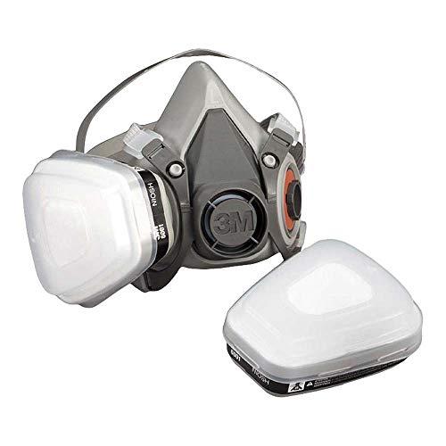 3m 4251pt respiratore per gas e vapori a semimaschera bianco