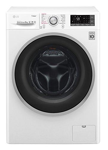 LG FH2G7TDN0 Libera installazione Carica frontale 8kg 1200Giri//min A++ Bianco lavatrice