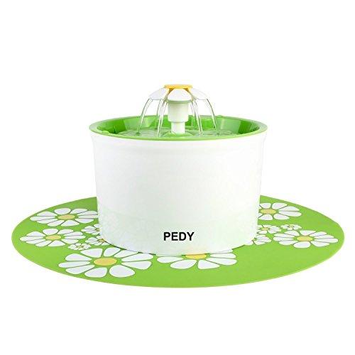 Pet Supplies Pedy Fontanella Fontana Floreale Automatico Per Gatti Cani Uccelli Animali Do...
