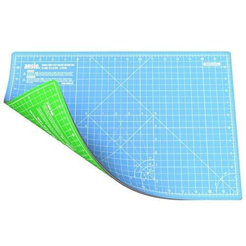 Colore: Blu /Tappeto Antiscivolo per Doccia 54/x 54/cm Dintex Mosaico/