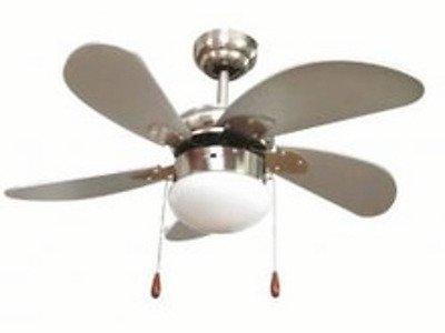 Ventilatore da soffitto con luce zephir consigli acquisto for Ventilatori da soffitto bricoman