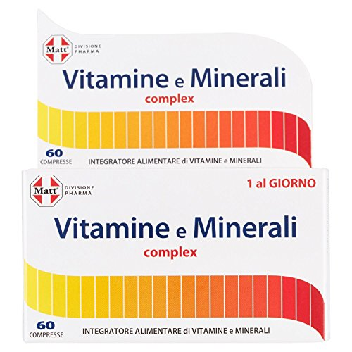 miglior multivitaminico e multiminerale